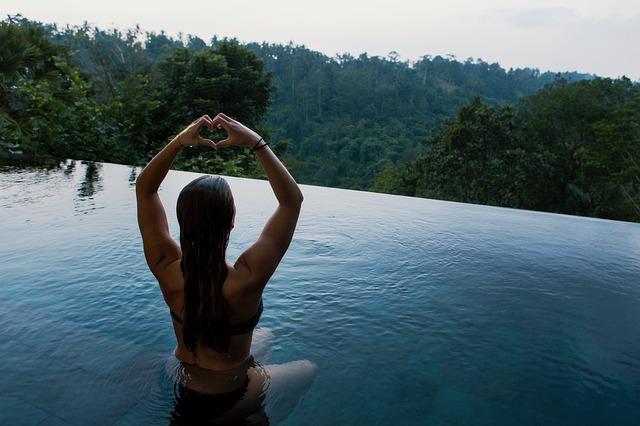 bazénová jóga