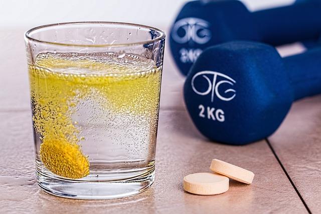 šumivý vitamín