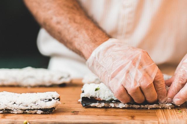 Příprava sushi