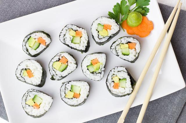 Sushi talíř