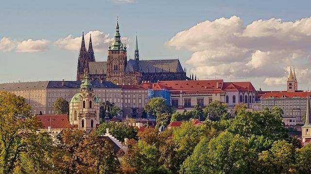 Pražský hrad jako na dlani