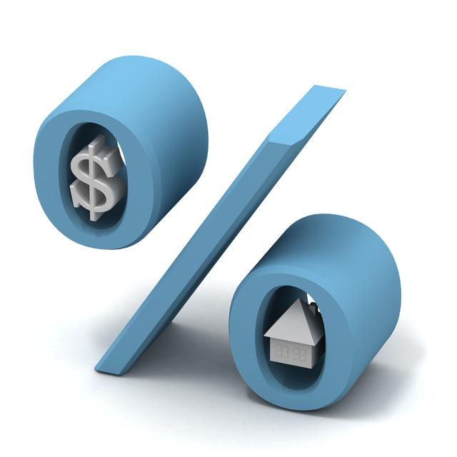velké procento se symboly dolaru v nulách
